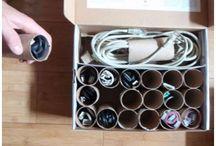 organizing / by Donna Eskew