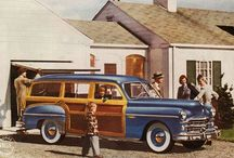 vintage paneled station wagon / by Picasso Summer