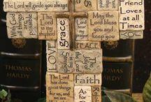 Crosses and angels / by Lupita De Luna-Ruiz