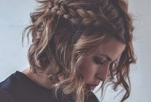 Hair Styles I wanna try / by Brooke Mcilwain
