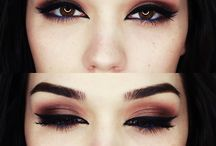 """Darker makeup / Pins that maybe inspire you to """"join the dark side"""" or find your own look with a bit darker makeup  / by Jacky Celestino"""