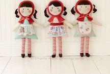 Softies & Dolls {SEW} / by Sara Soares