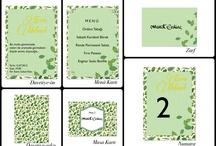 Wedding Invitations by Damla Sahin / by Damla Sahin