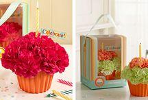 Fun Flowers 4 My Table / by Kathy Hoffman