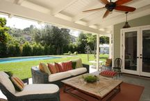 Back porch ideas / by Tovah Robertson