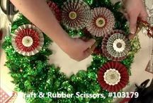 christmas project videos / by Lavinia Dow
