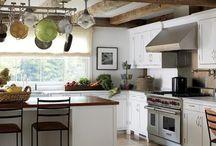 Cabin kitchen / by Holly Bouslough