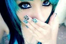 ¤Hair and color¤ / by ☆♢Kanque♢☆