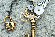 jewelry - steampunk / by Melissa Hamilton