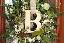 Crafts-Wreaths / wreath ideas i'd like to make, or Inspiration / by Patti Kluth