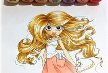 Crafts - Copic Coloring / by Jennifer Redwood Hanssens