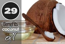 benefits of coconut oil  / by Tammy Leathers Parker