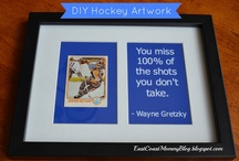 Hockey / A great hockey Pinterest board for kids who LOVE hockey. / by Gina Bell... East Coast Mommy