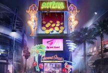 SlotZilla Zip Line Las Vegas / by Fremont Street Experience Las Vegas