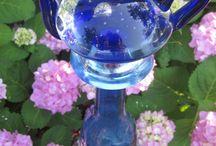 Glassware art / by Linda House Enz
