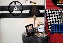Kids Room Ideas - Car/automotive themed / by Stephanie @ The Cozy Old Farmhouse