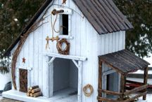 Bird houses / by Dawnmarie Jackson