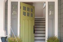 Front door - Porta d'ingresso / by Torte di pannolini Betty's Heart