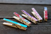 Clothespins / by Jenny Bartoy