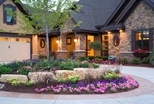 Great Landscaping / Stunning home landscaping is highlighted here. See how to create wonderful curb appeal with gorgeous landscaping ideas, plant choices, and more! / by House Plans and More