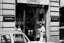 "Vintage-Chanel / inspiration- Designer: Gabrielle ""Coco"" Chanel (1883–1971)   / by carolyn parker thompson"
