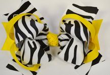 Hair bows / by Lacey Green