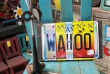 license plates / by annatgreenoak..
