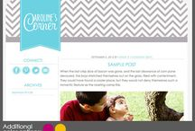 Blog Design / by Real Housemoms