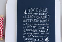 Paper Goods Vendors / Wedding invitations, place cards and oh so much more! / by The NotWedding