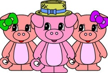 The Three Little Pigs / by Xisca Capellà