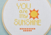 Cross stitching  / by Carolinka