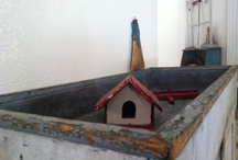 Antique Birdhouses & Doll Houses / by Adrian Maryott