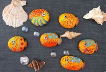PAINTED STONES (Ocean) / Everything about the sea. / by Zoe Madison