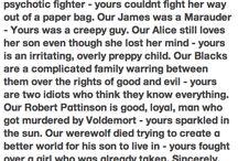 Harry Potter / by Hannah Hendrickson