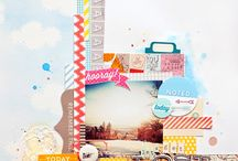 LAYOUT: BRACKET / by Get It Scrapped (Debbie Hodge)