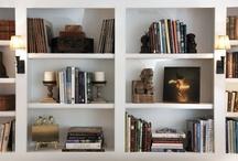 Bookshelves / by Carolyn Schilling