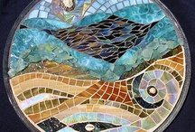 Artistic Mosaics / Artwork made from mosaic tiles, glass, stone and other materials / by Marie Wise