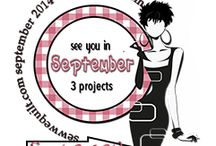 See you in September blog hop / Shari is cheering us on this one....Everyone will be creating projects over the summer whereby they will choose 3 to highlight in September...so see you then..... / by Mdm Samm ...