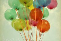 Balloons, Bubbles and Baubles  / by Sara Richards