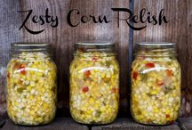Canning Year Round / Calling all canning fans! Please include your favourite recipes from all seasons from classic to crazy and common to wild and creative! Let's feed our canning obsession together! Please note whether the recipe uses Water Bath (WB), Pressure Canner (PC), Freezer (F) or is Fermented (FD) as the preservation method! / by Foodie with Family's Rebecca Lindamood