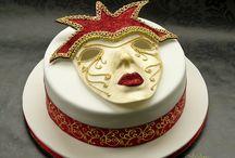 mask cakes / by Pamela Webster