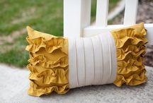 sew {pillows} / by Melanie Christensen