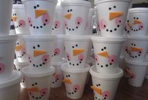 Frosty Snowman Party / by Carrie Blasi
