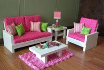 Doll furniture to build / by Heidi Kuzniak
