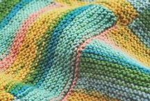 Glorious Garter Stitch / by Sarah White/Our Daily Craft