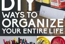 Organize / by Candace Mixon