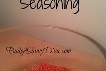 seasonings/sauces / by Sarah Bode