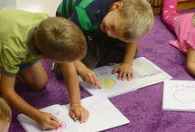 preschool journals / by kristin :: preschool daze