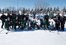 #mnwildoutdoors / #mnwild heads outdoors for a practice pres. by Audi Minneapolis & Audi St. Paul. / by Minnesota Wild