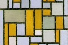 Art: Piet Mondrian / by Anna Rita Caddeo